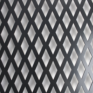 PVDF / Flurocarbon Perforated Metal Sheet