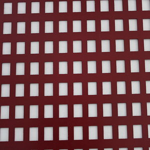 Aluminium Perforated Metal Deckenplatte