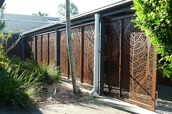 Aluminium Laser Cut Fencing Panel