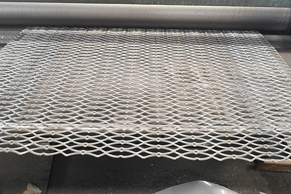 Gothic Expanded Metal Mesh