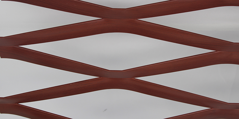 Holztransferdruck Expanded Metal Panel Mesh